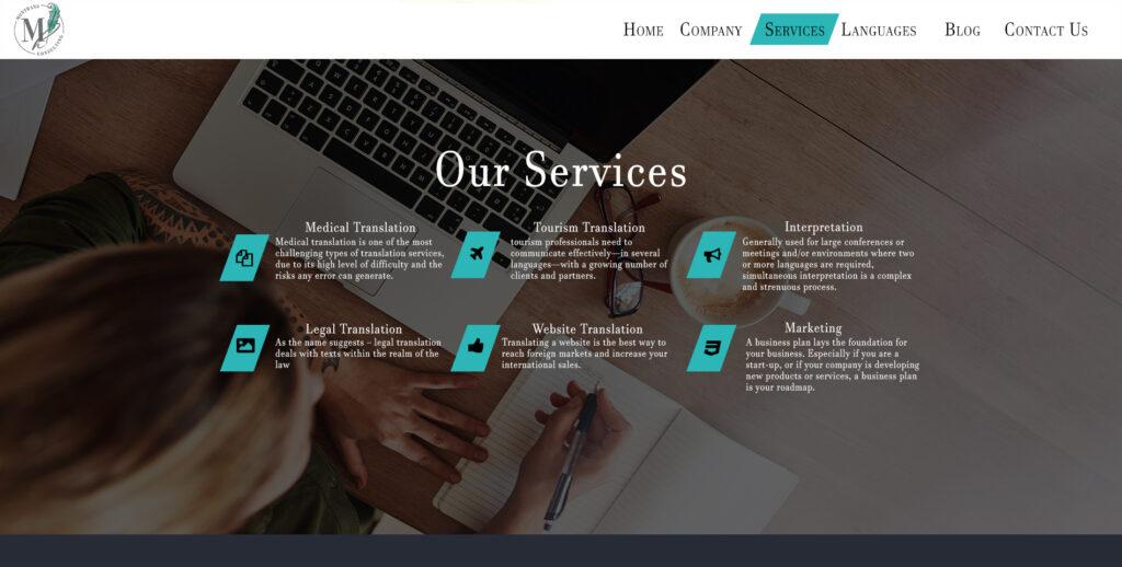 web design belize